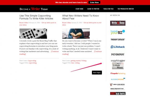 Media logos as social proof for website design