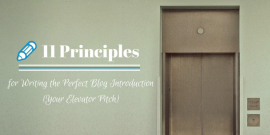 Perfect blog introduction header image