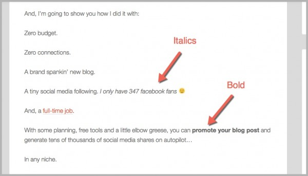 Robbie Richards blog introduction example