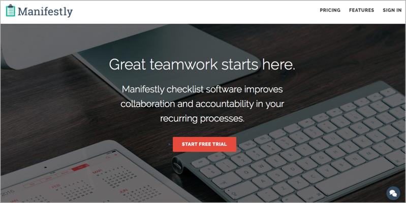Manifestly for blog outsourcing management