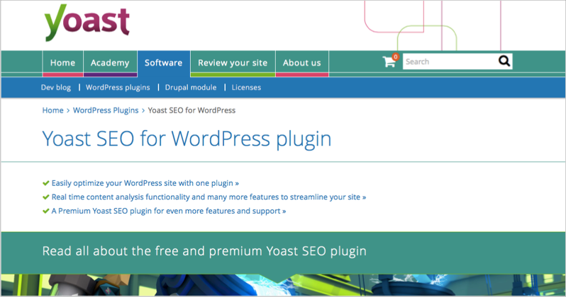 Yoast example for blog outsourcing tool
