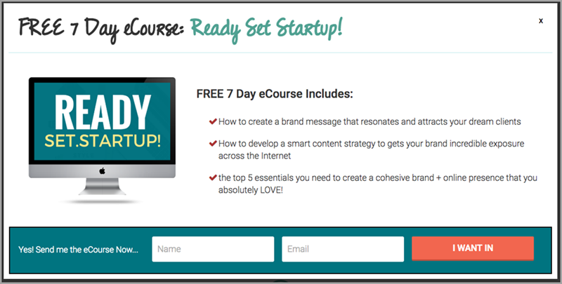 Free Ecourse for lead magnet ideas
