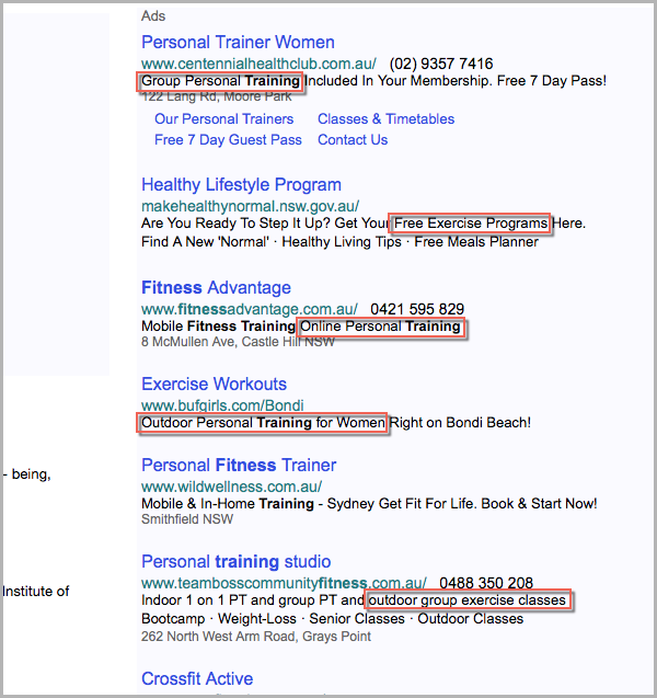 Yahoo ads keyword opportunities