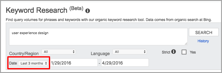 bing keyword research for keyword research methods